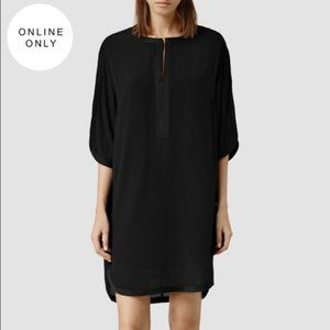 AllSaints Acre Dress - Size 2 / Small in Black